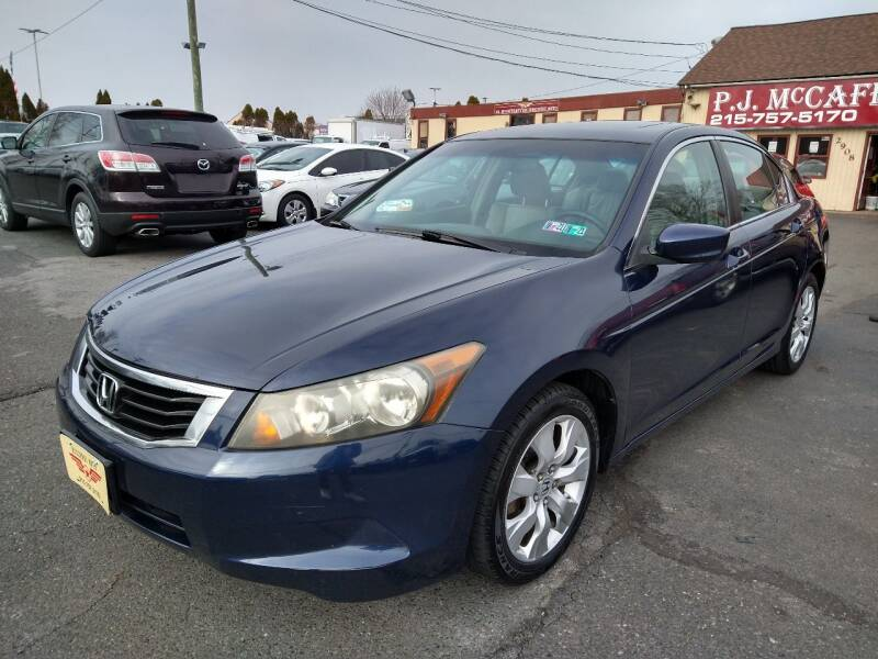 2008 Honda Accord for sale at P J McCafferty Inc in Langhorne PA