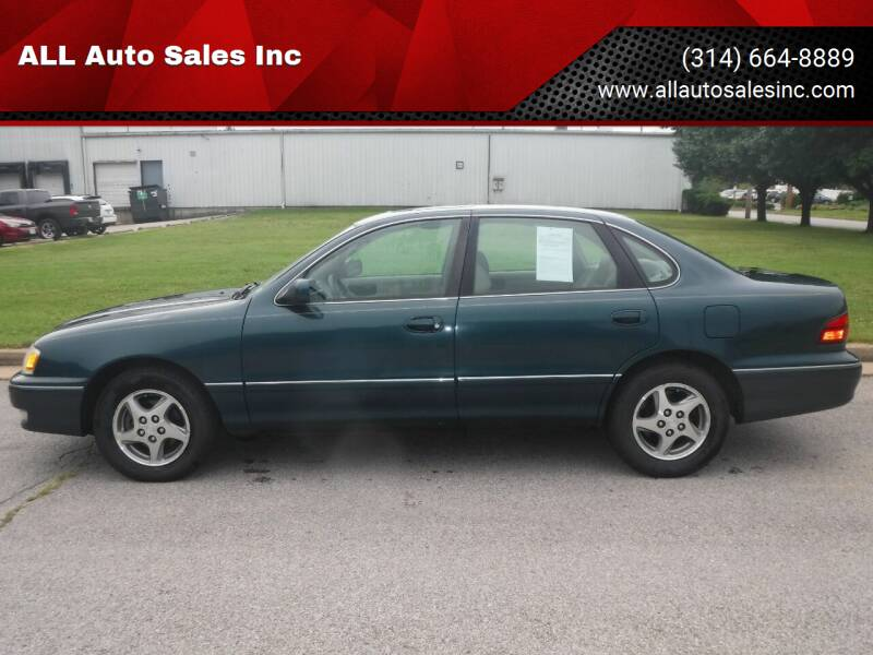 1998 Toyota Avalon for sale at ALL Auto Sales Inc in Saint Louis MO