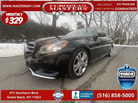 2016 Mercedes-Benz E-Class for sale at European Masters in Great Neck NY