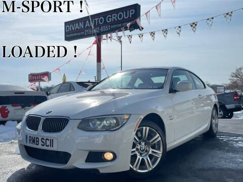 2012 BMW 3 Series for sale at Divan Auto Group in Feasterville PA