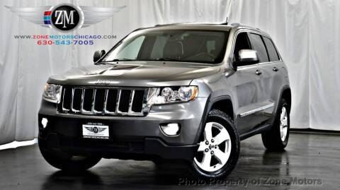 2011 Jeep Grand Cherokee for sale at ZONE MOTORS in Addison IL