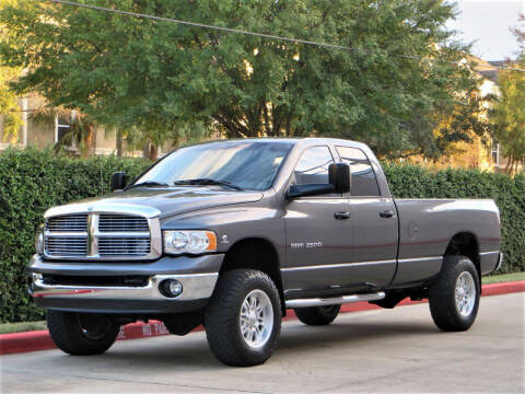 2004 Dodge Ram Pickup 2500 for sale at RBP Automotive Inc. in Houston TX