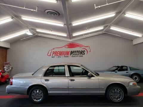 2007 Mercury Grand Marquis for sale at Premium Motors in Villa Park IL