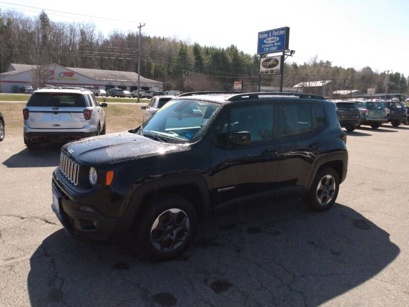 2015 Jeep Renegade for sale at Ripley & Fletcher Pre-Owned Sales & Service in Farmington ME