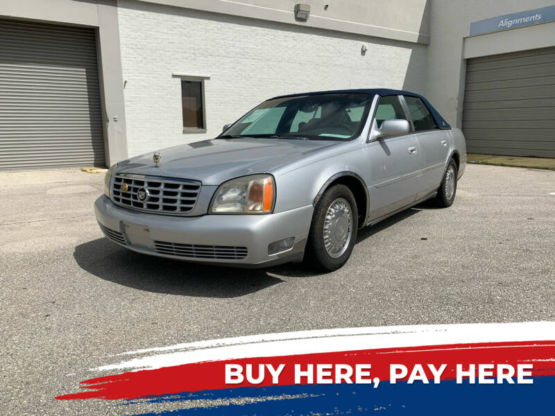 2002 Cadillac DeVille for sale at Mid City Motors Auto Sales - Mid City North in N Fort Myers FL
