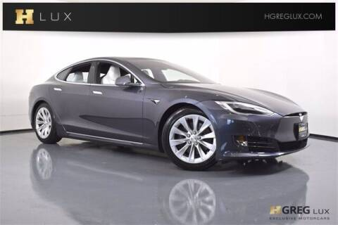 2020 Tesla Model S for sale at HGREG LUX EXCLUSIVE MOTORCARS in Pompano Beach FL