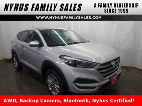 2018 Hyundai Tucson for sale at Nyhus Family Sales in Perham MN