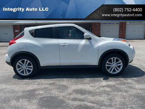 2013 Nissan JUKE for sale at Integrity Auto LLC - Integrity Auto 2.0 in St. Albans VT