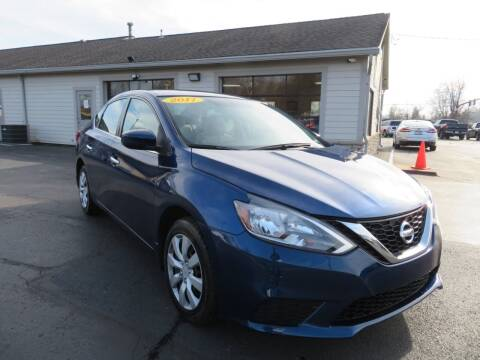 2017 Nissan Sentra for sale at Tri-County Pre-Owned Superstore in Reynoldsburg OH