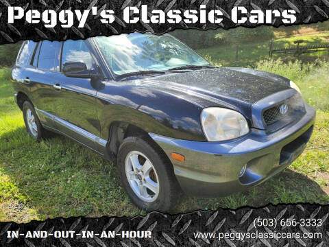 2003 Hyundai Santa Fe for sale at Peggy's Classic Cars in Oregon City OR