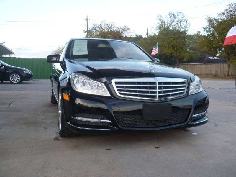 2012 Mercedes-Benz C-Class for sale at Auto Outlet Inc. in Houston TX