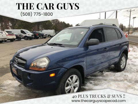 2009 Hyundai Tucson for sale at The Car Guys in Hyannis MA
