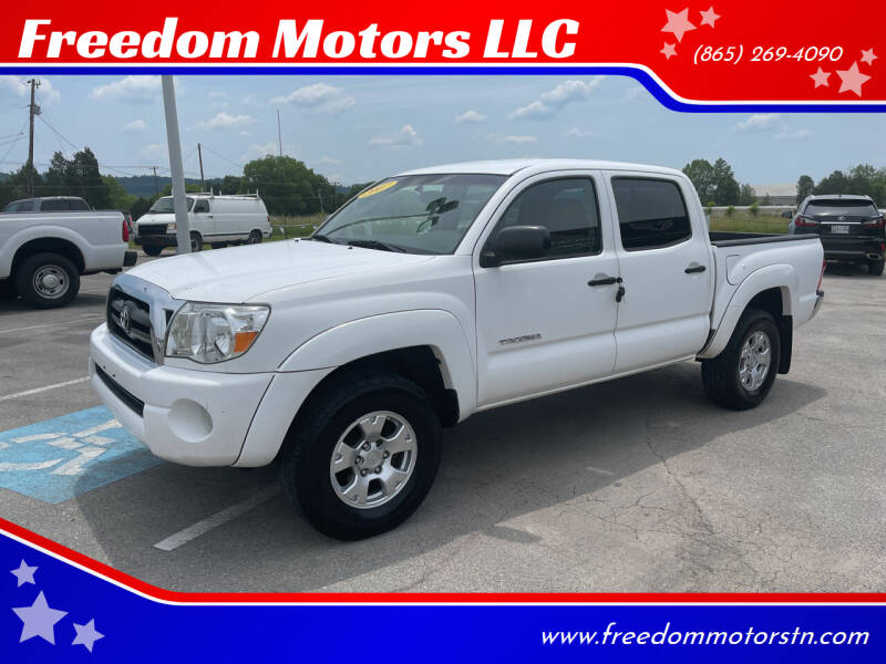 2007 Toyota Tacoma for sale at Freedom Motors LLC in Knoxville TN