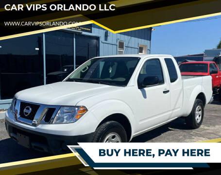 2014 Nissan Frontier for sale at CAR VIPS ORLANDO LLC in Orlando FL