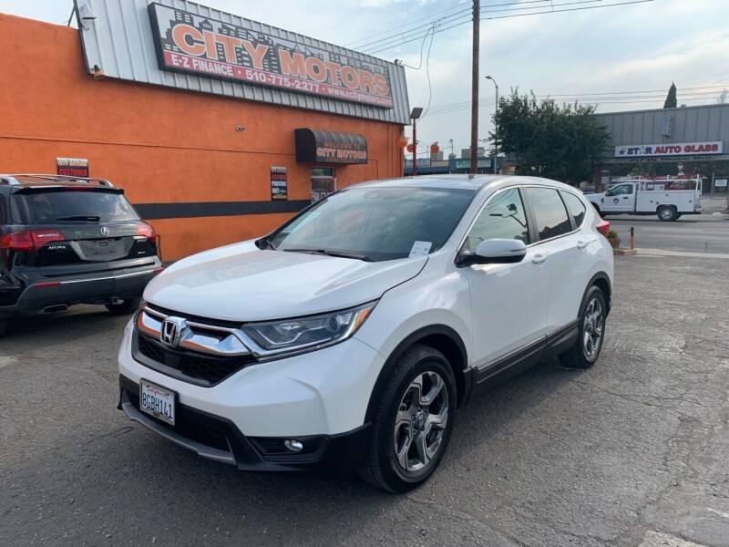 2018 Honda CR-V for sale at City Motors in Hayward CA