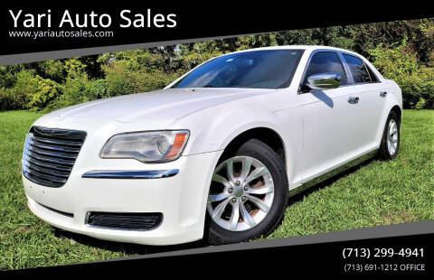 2012 Chrysler 300 for sale at Yari Auto Sales in Houston TX