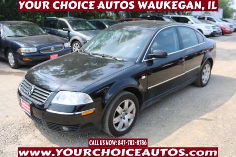 2003 Volkswagen Passat for sale at Your Choice Autos - Waukegan in Waukegan IL