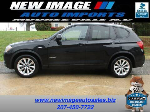 2017 BMW X3 for sale at New Image Auto Imports Inc in Mooresville NC