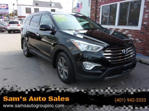2014 Hyundai Santa Fe for sale at Sam's Auto Sales in Cranston RI