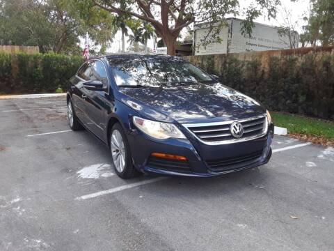 2012 Volkswagen CC for sale at Florida Auto Trend in Plantation FL