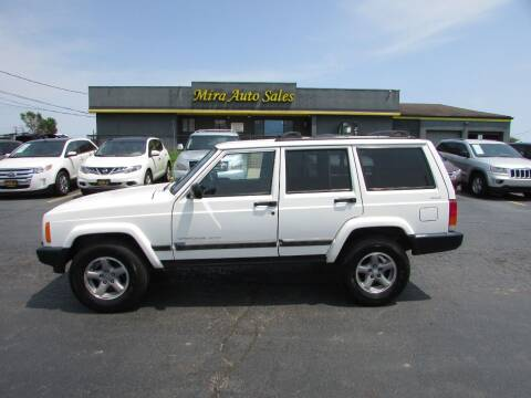 2001 Jeep Cherokee for sale at MIRA AUTO SALES in Cincinnati OH