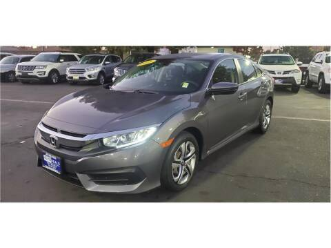 2018 Honda Civic for sale at AutoDeals in Hayward CA
