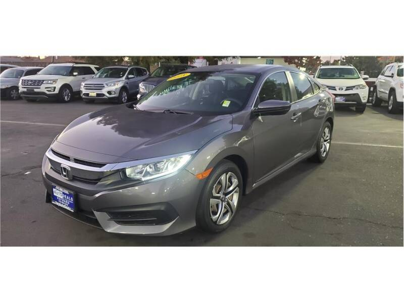 2018 Honda Civic for sale at AutoDeals in Daly City CA
