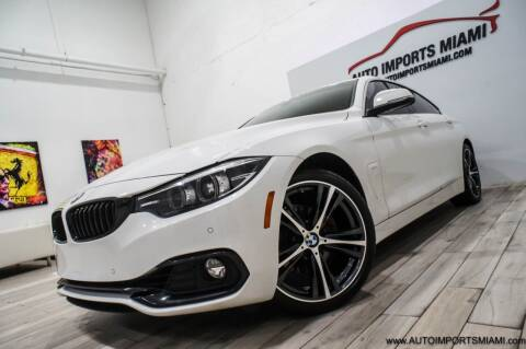 2018 BMW 4 Series for sale at AUTO IMPORTS MIAMI in Fort Lauderdale FL