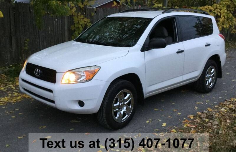 2008 Toyota RAV4 for sale at Pete Kitt's Automotive Sales & Service in Camillus NY