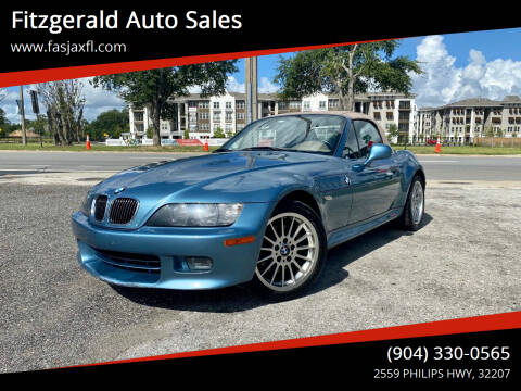 2001 BMW Z3 for sale at Fitzgerald Auto Sales in Jacksonville FL