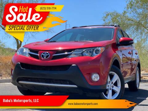 2014 Toyota RAV4 for sale at Baba's Motorsports, LLC in Phoenix AZ