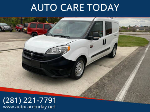 2016 RAM ProMaster City Cargo for sale at AUTO CARE TODAY in Spring TX