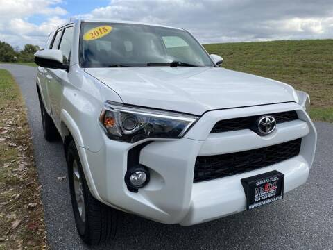 2018 Toyota 4Runner for sale at Mr. Car City in Brentwood MD