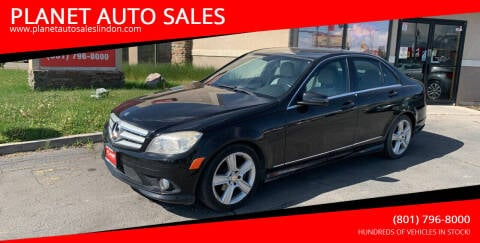 2010 Mercedes-Benz C-Class for sale at PLANET AUTO SALES in Lindon UT
