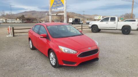2016 Ford Focus for sale at Auto Depot in Carson City NV