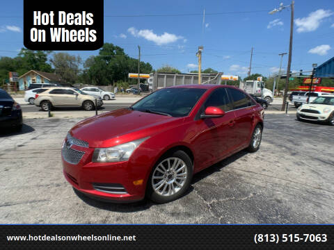 2011 Chevrolet Cruze for sale at Hot Deals On Wheels in Tampa FL