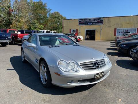 2004 Mercedes-Benz SL-Class for sale at Virginia Auto Mall in Woodford VA