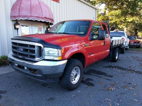 2002 Ford F-250 Super Duty for sale at Bethlehem Auto Sales LLC in Hickory NC
