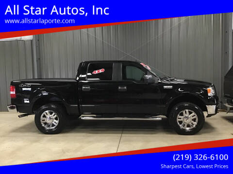 2007 Ford F-150 for sale at All Star Autos, Inc in La Porte IN