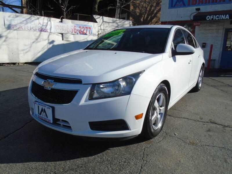 2013 Chevrolet Cruze for sale at IBARRA MOTORS INC in Cicero IL