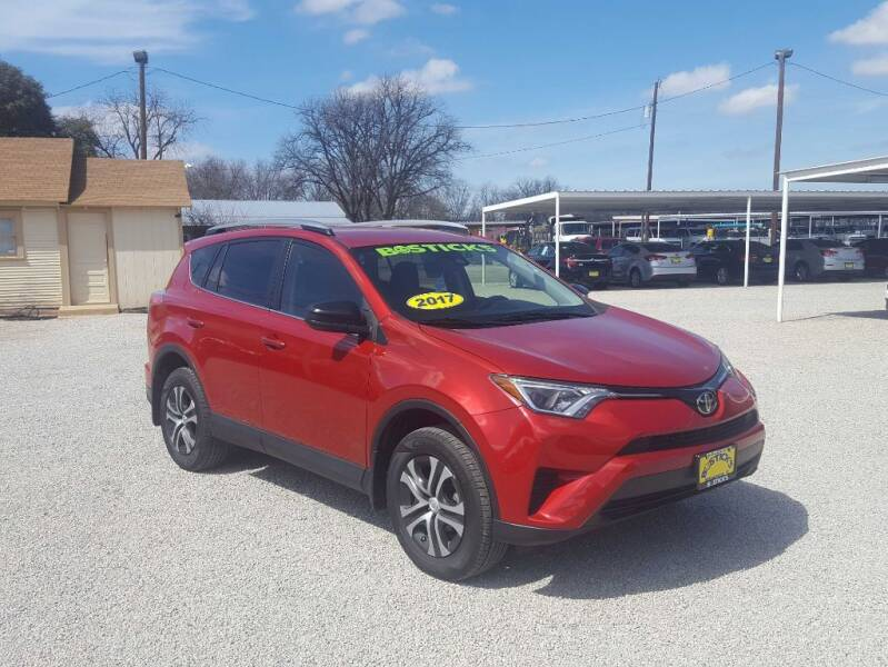 2017 Toyota RAV4 for sale at Bostick's Auto & Truck Sales LLC in Brownwood TX