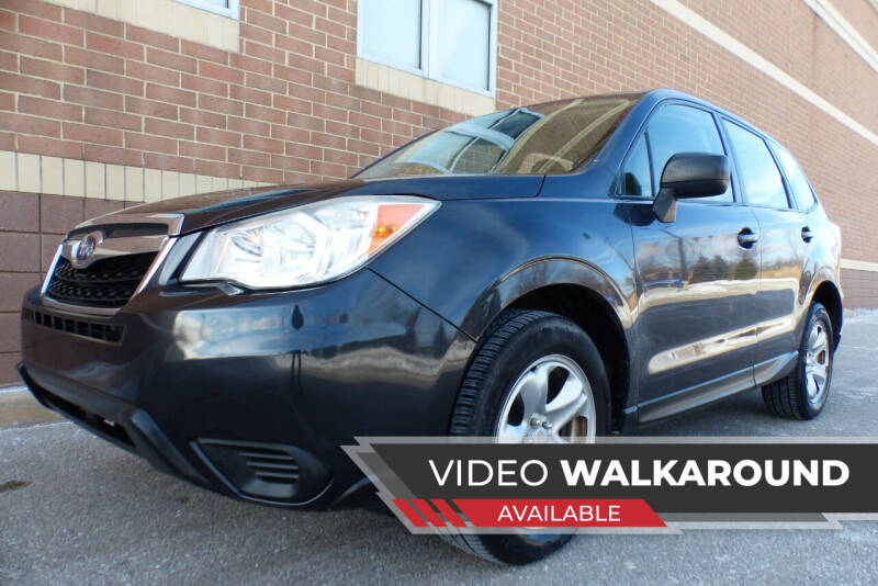 2014 Subaru Forester for sale at Macomb Automotive Group in New Haven MI