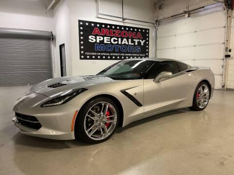 2016 Chevrolet Corvette for sale at Arizona Specialty Motors in Tempe AZ