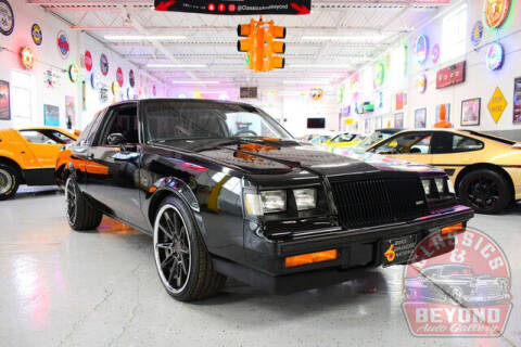1987 Buick Regal for sale at Classics and Beyond Auto Gallery in Wayne MI