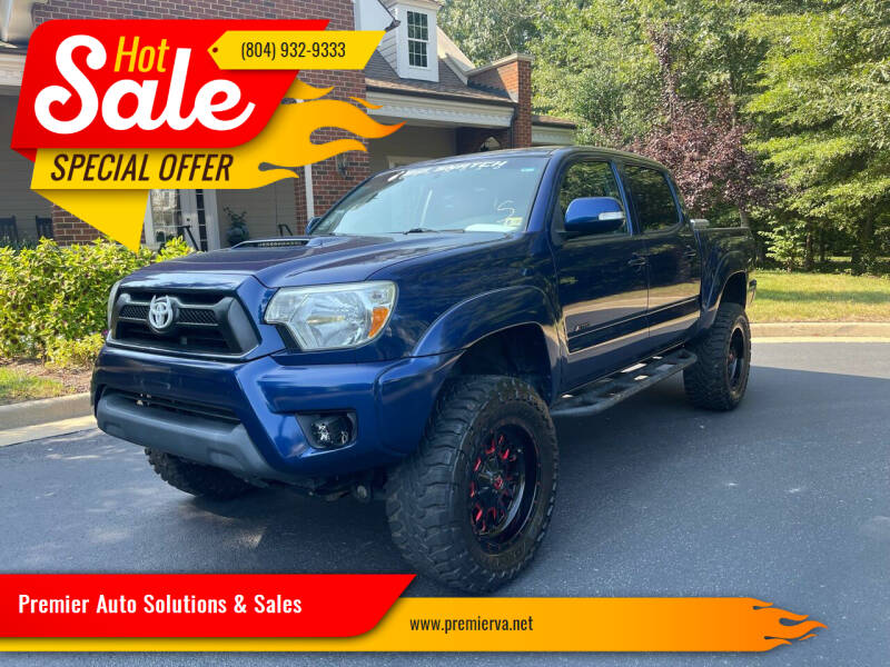 2015 Toyota Tacoma for sale at Premier Auto Solutions & Sales in Quinton VA