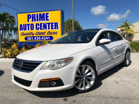 2009 Volkswagen CC for sale at PRIME AUTO CENTER in Palm Springs FL