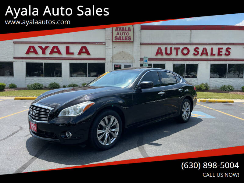 2013 Infiniti M56 for sale at Ayala Auto Sales in Aurora IL