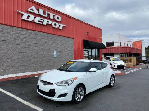 2016 Hyundai Veloster for sale at Auto Depot - Nashville in Nashville TN