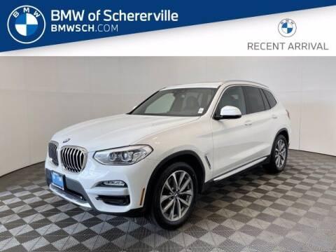 2019 BMW X3 for sale at BMW of Schererville in Schererville IN