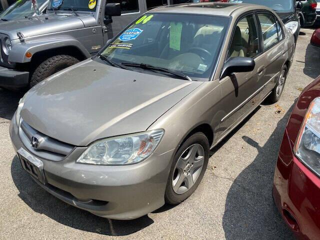 2004 Honda Civic for sale at ARXONDAS MOTORS in Yonkers NY